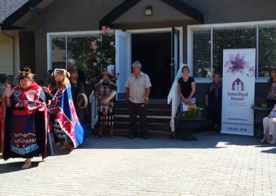 AmethystHouse-GrandOpening-FirstNationsBlessing